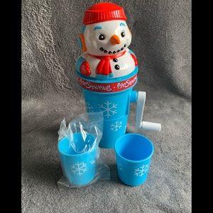 Great Vintage Mr.Snowman Sno-cone Maker!